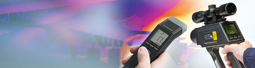 Innovative IR handheld pyrometers for inspection and maintenance